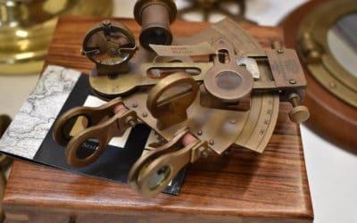 Du sextant au bateau connecté…